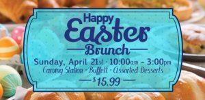 Easter Brunch Buffet Promotion