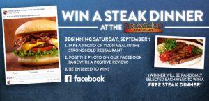 Win a Steak Dinner Contest