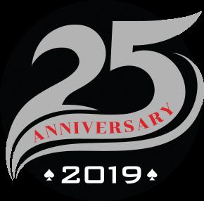 Prairie Wind Casino 25th anniversary logo