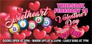 Sweetheart Bingo Promotion