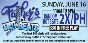 Father's Day Hot Seats Promotion