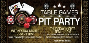 Table Games Pit Party