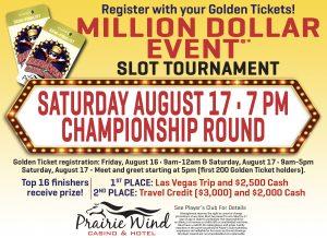 Million Dollar Slot Tournament Event