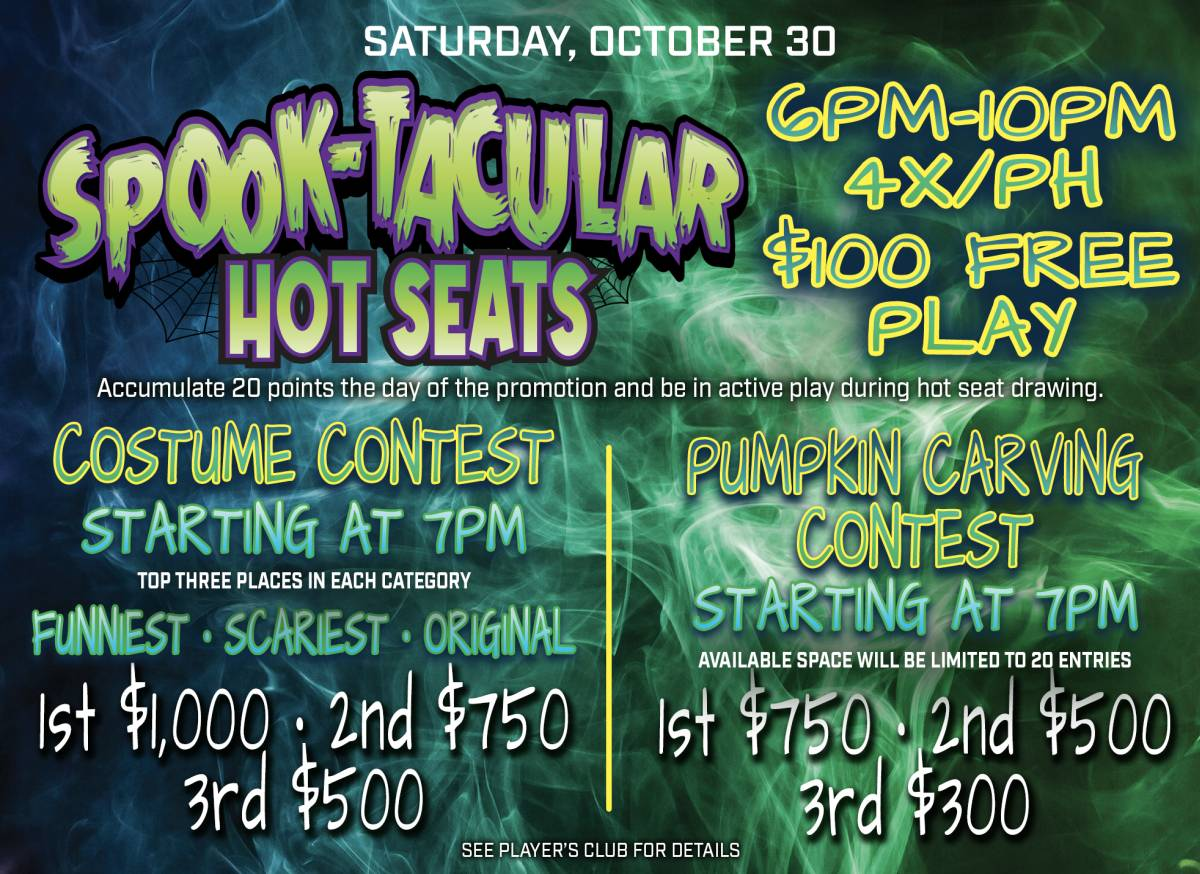 Spook-Tacular Hot Seats