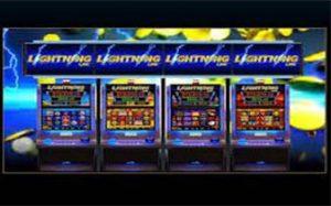 Lightning slot machines