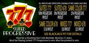Suited 777 Progressive promotion
