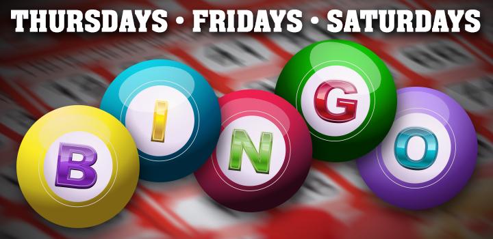 Thursday, Fridays, Saturdays Bingo Nights at Prairie Wind Casino