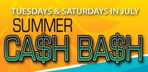 Summer Cash Bash promotion
