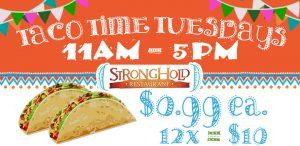 Taco Time Tuesdays promotion
