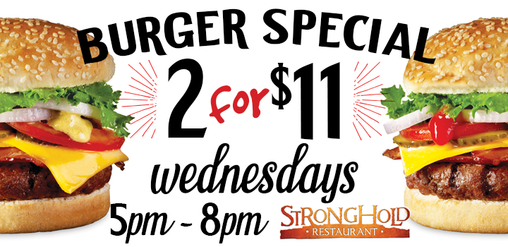Burger Special Promotion