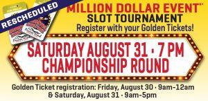 Million Dollar Event Slot Tournament