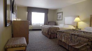 2 bed hotel room at Prairie Wind Casino & Hotel