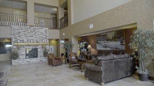 Lobby of Prairie Wind Casino & Hotel