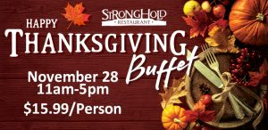 Prairie Wind Casino Thanksgiving 2019 Buffet Promo