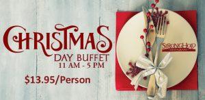 Prairie Wind Casino Christmas Day Buffet