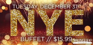 Prairie Wind Casino New Year's Eve 2019 buffet special
