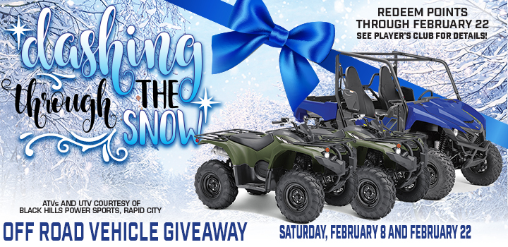 Prairie Wind Casino Dashing through the Snow Promo