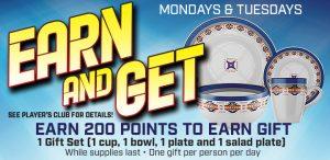 Prairie Wind Casino Earn and Get promo