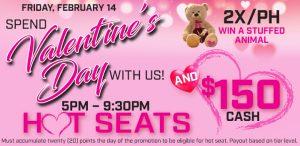 Prairie Wind Casino Valentine's Day 2020 promo