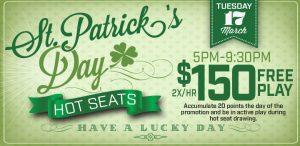 Saint Patrick's Day Hot Seats