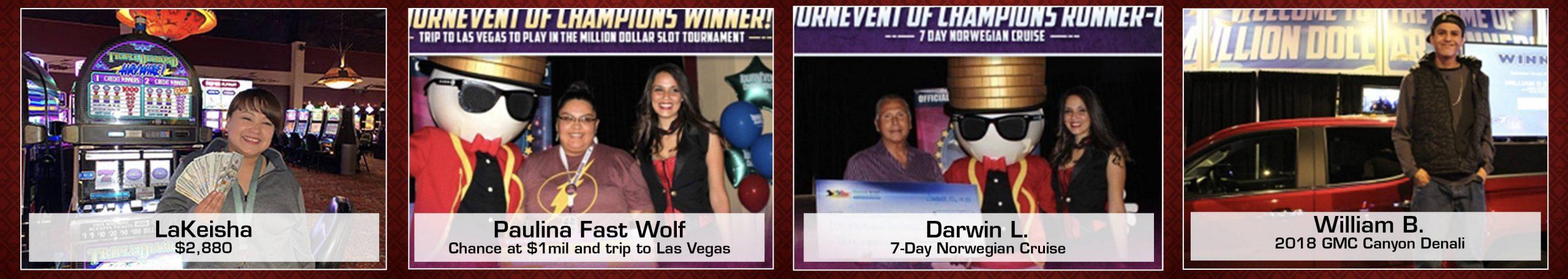Prairie Wind Casino Winners