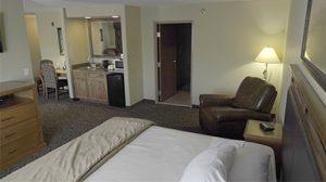 Hotel room at Prairie Wind Casino & Hotel
