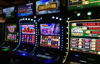 Slot machines at Prairie Wind Casino