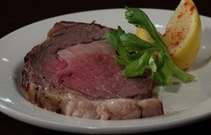 Prime Rib from Stronghold Restaurant at Prairie Wind Casino
