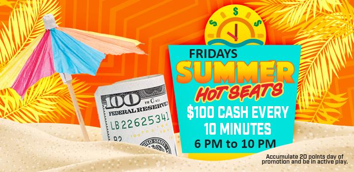 Fridays Summer Hot Seats Promo