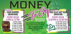 Money To Go Saturday August 2021 Promo